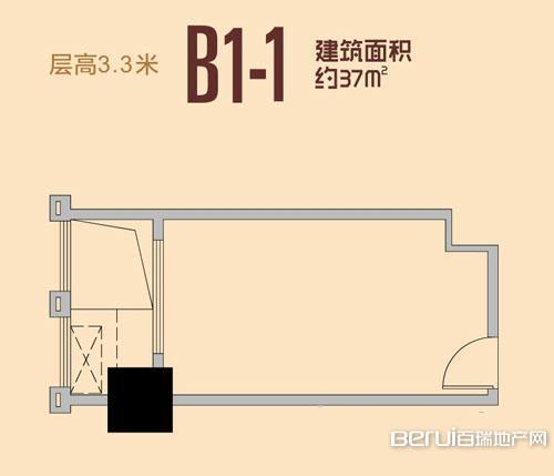 祥源城湖山小筑B1-1户型