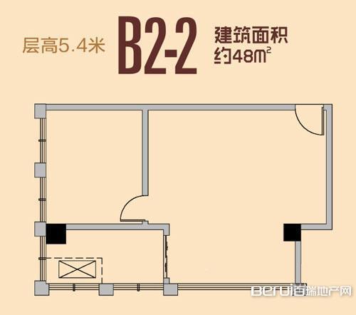 祥源城湖山小筑B2-2户型