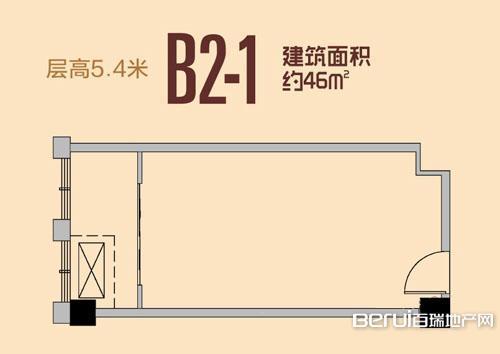 祥源城湖山小筑B2-1户型
