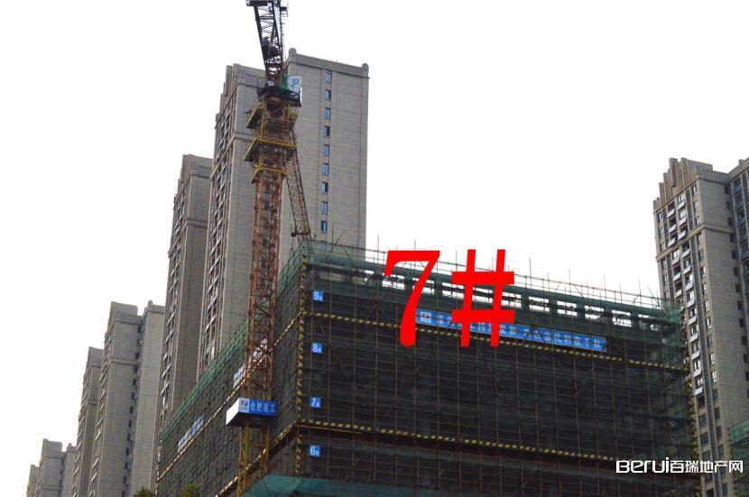 祥源城湖山小筑7#建至约9层