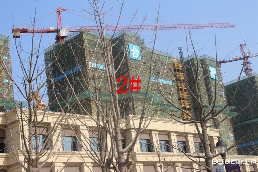 祥源文旅城2#楼建至约14层 7/9