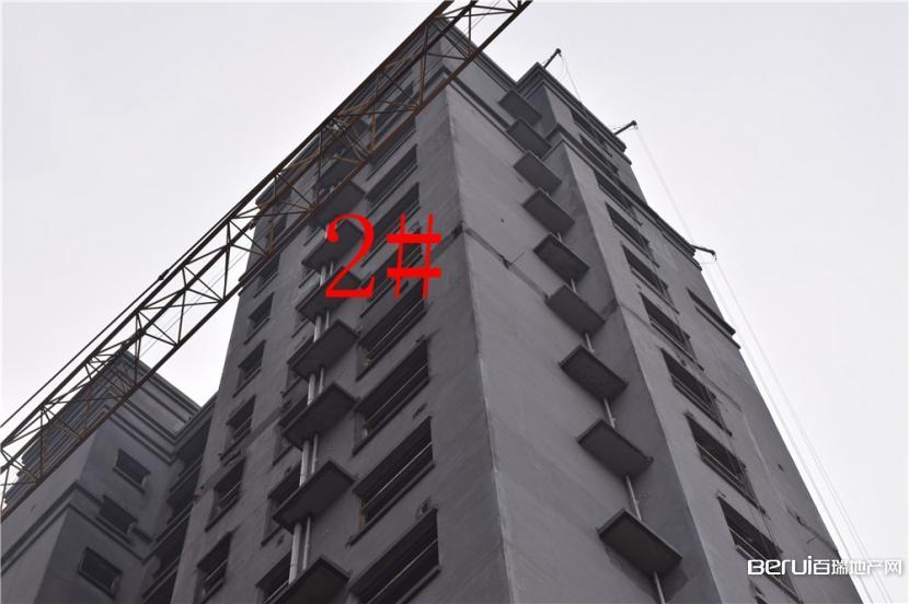 利华皇家公馆2#楼主体工程已建好