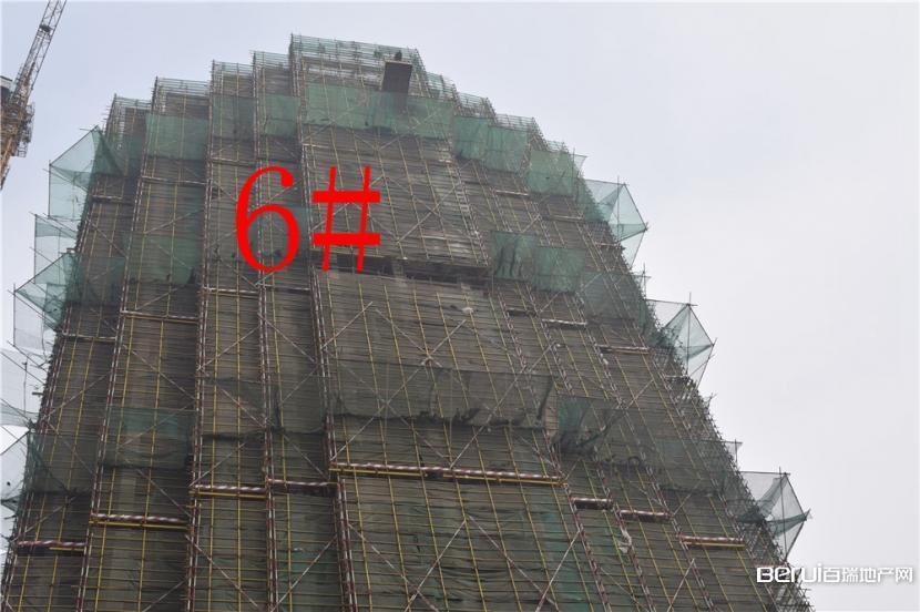 利华皇家公馆6#楼接近封顶