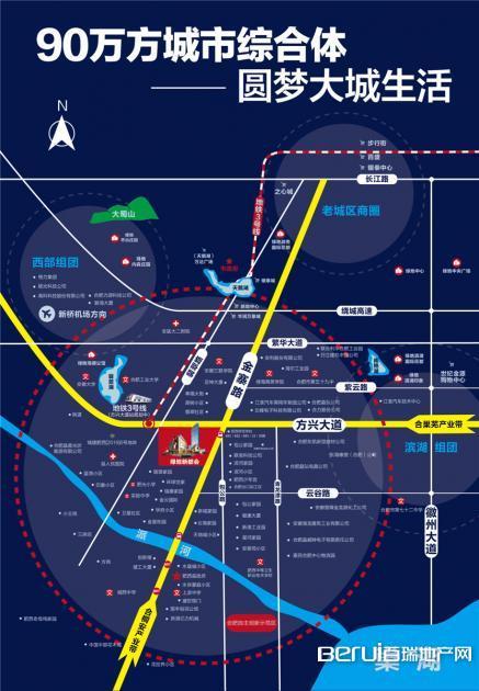绿地新都会交通图