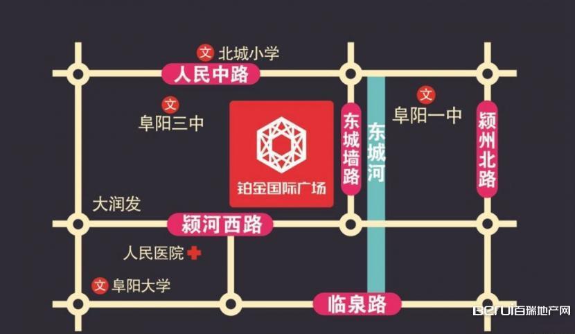 铂金国际广场交通图
