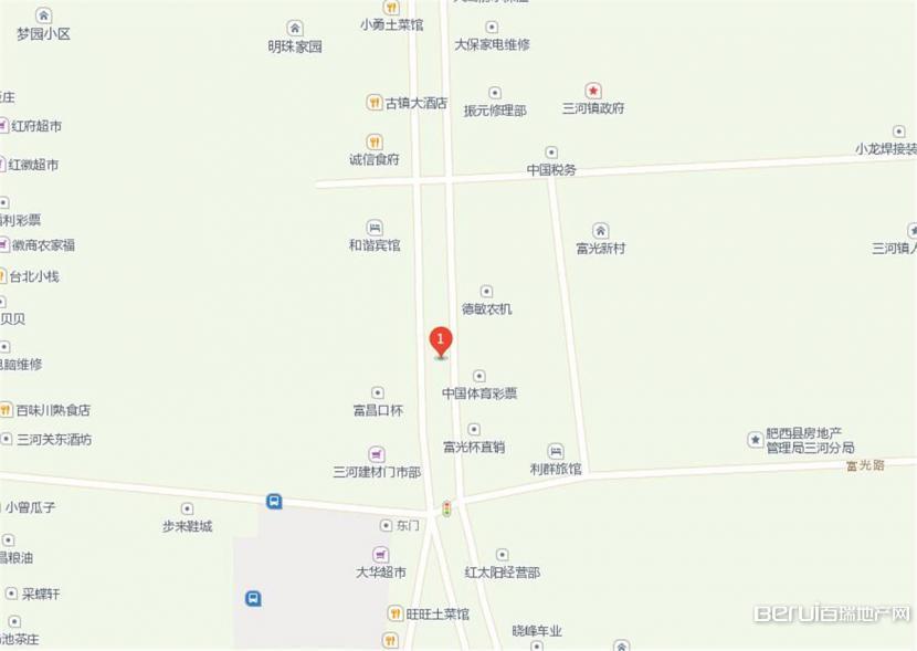 三河·新天地交通图