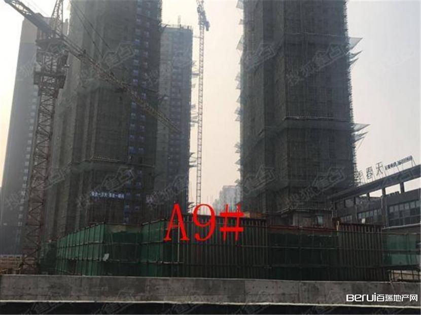 丽丰一品A区9#年前开工目前建至第一层。