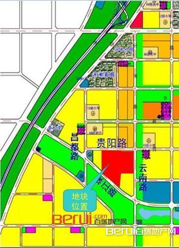 保利滨湖区BH2016-25号地块图