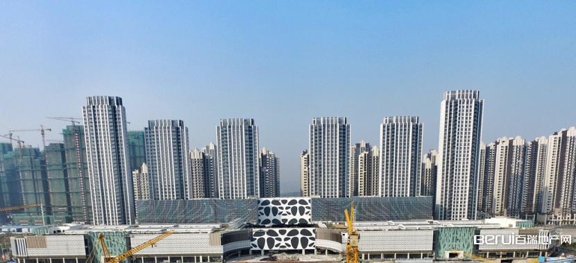 恒大中心518MALL商业实景图