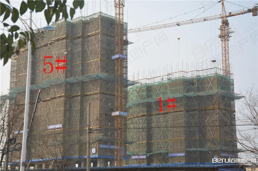 恒业华府5# 建至17层 1#建至12层