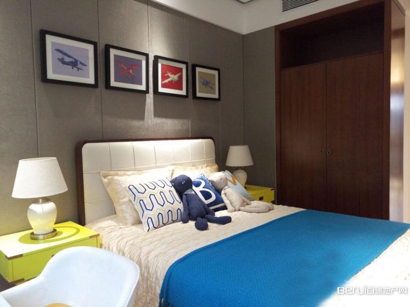 华地森林语样板间-118㎡卧室