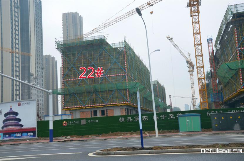 高速时代公馆22#建至8层