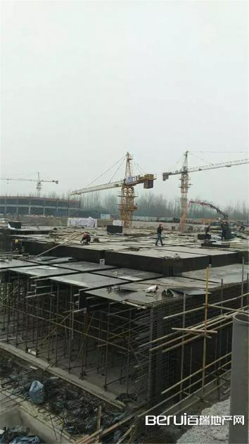 皖北机械装备城 2、3、4号楼地下仓储在建