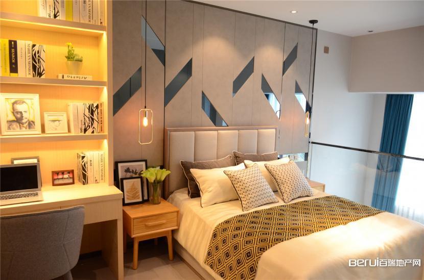 文一名门金隅loft公寓35㎡B户型卧室