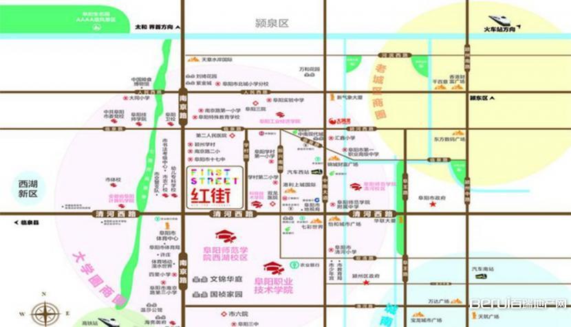大学城·红街交通图