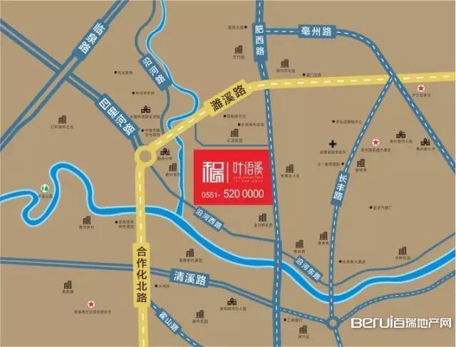 和顺·叶语溪交通图