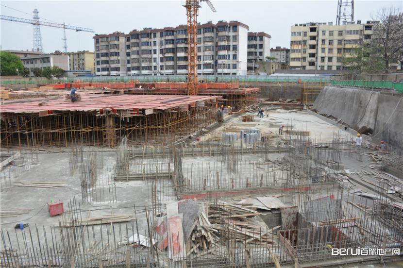 城建·祥瑞小区施工现场