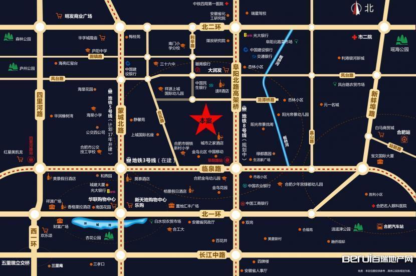 文一·泊心湾交通图