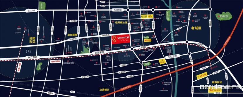 斌锋时代城交通图
