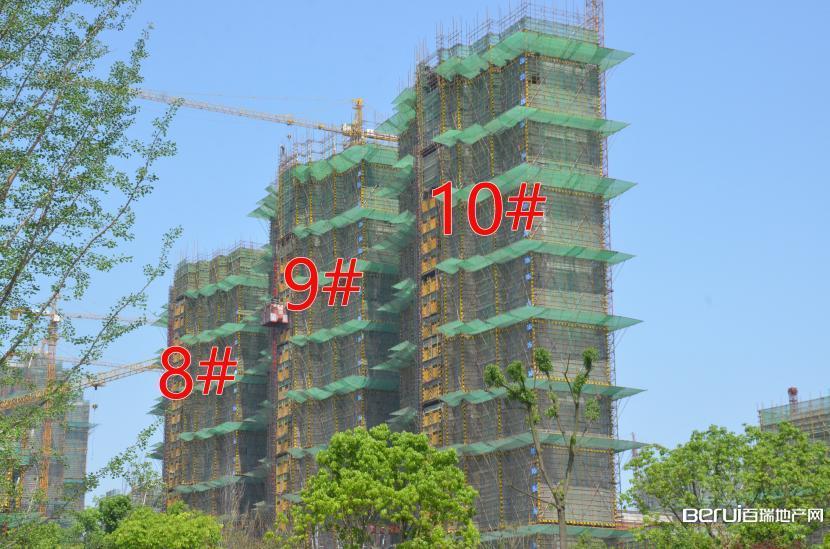 国贸天悦8#建至20层,9#建至25层,10#建至28层