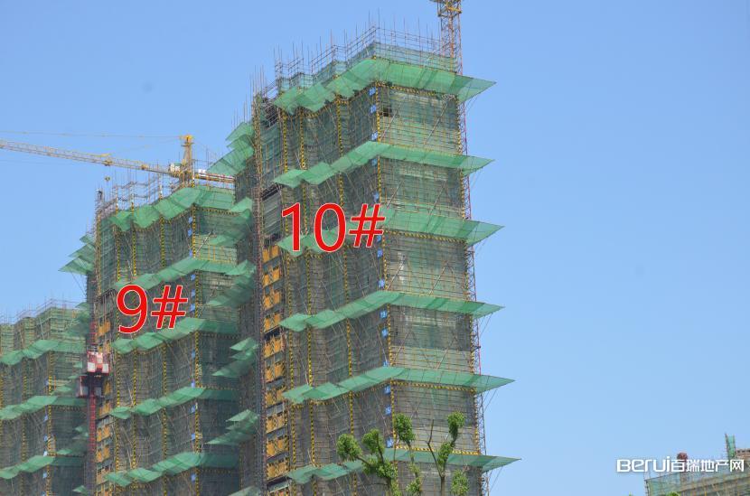 国贸天悦9#建至25层,10#建至28层