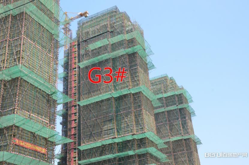 绿地御徽G3#封顶