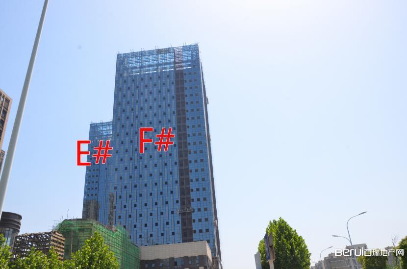 绿地中心E#、F#封顶