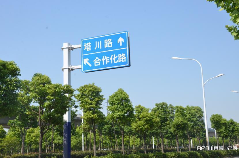 建发雍龙府周边路牌