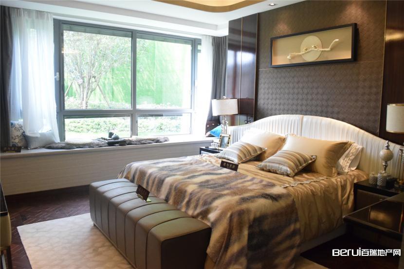 文一·塘溪津门洋房138㎡样板房卧室