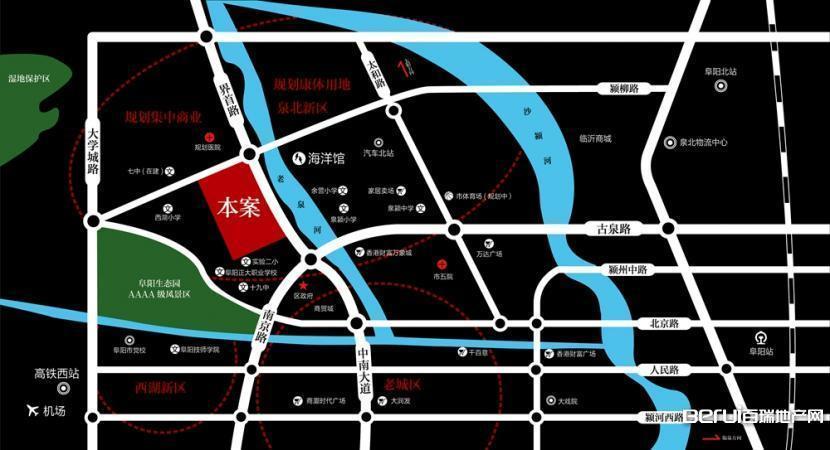 同昇·玫瑰园交通图