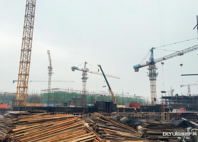 碧桂园·翡翠湾工程现场