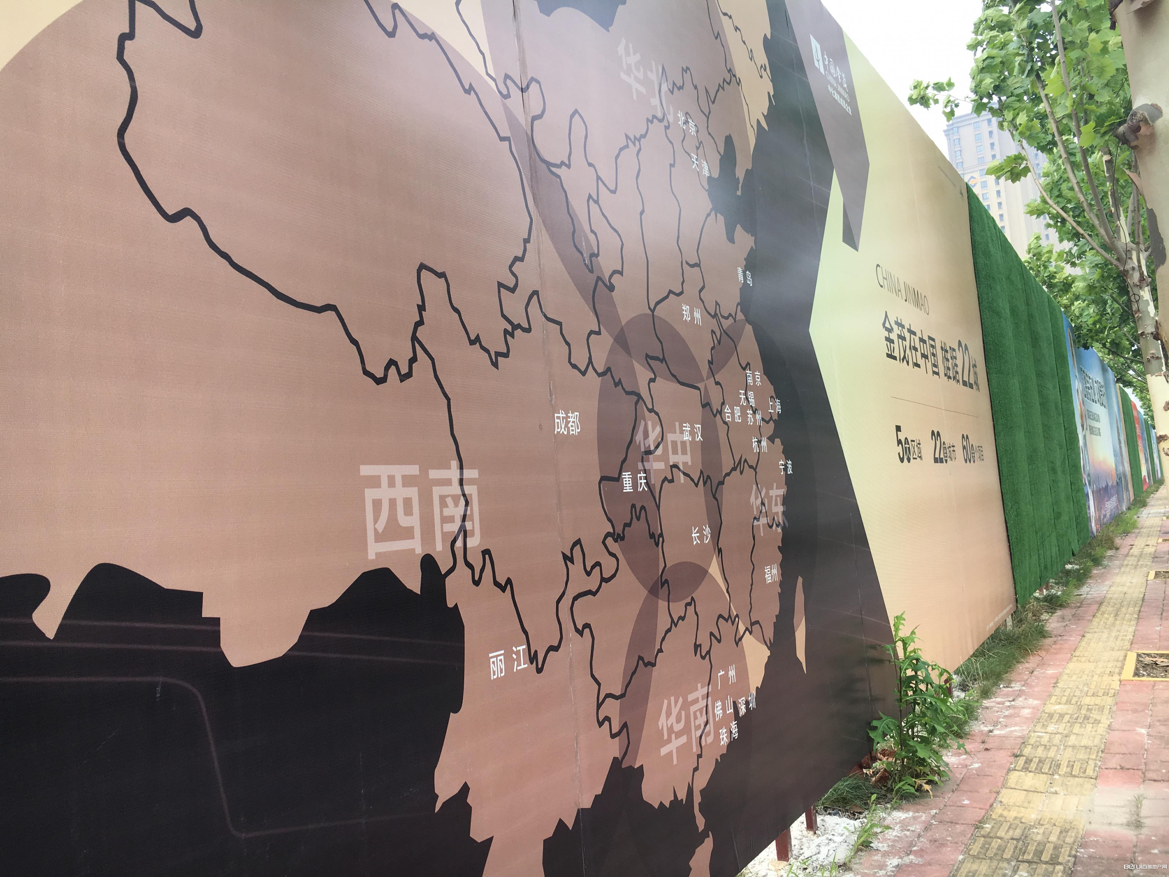 滨湖金茂悦工程现场