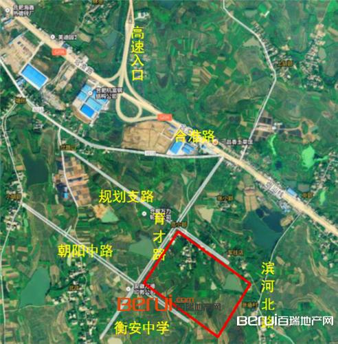 祥源长丰CF201703号地块交通图