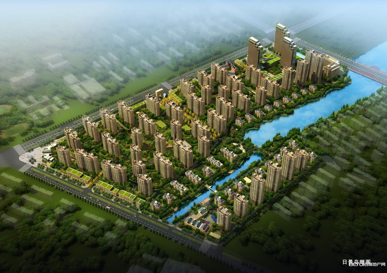 佳源·中央城鸟瞰图