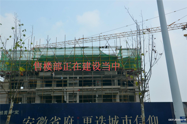 碧桂园中堂工程现场