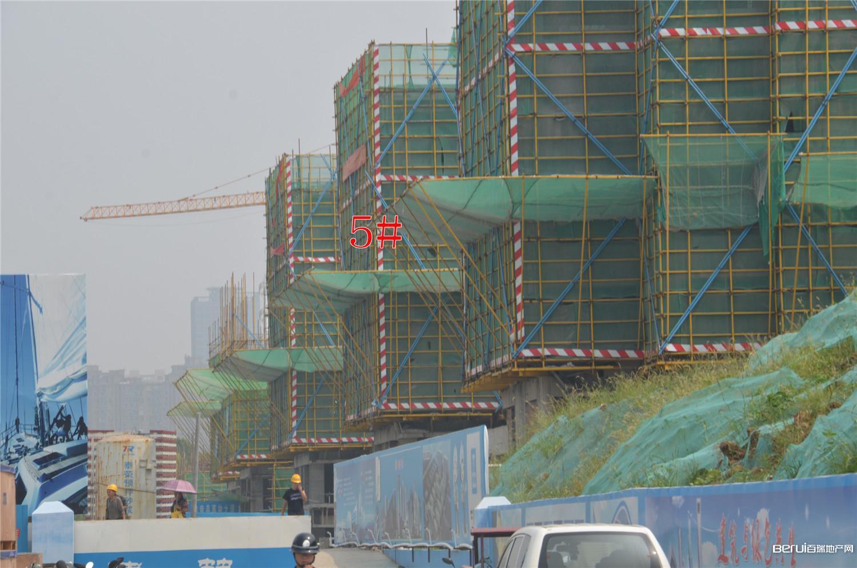 置地·滨湖双玺工程现场