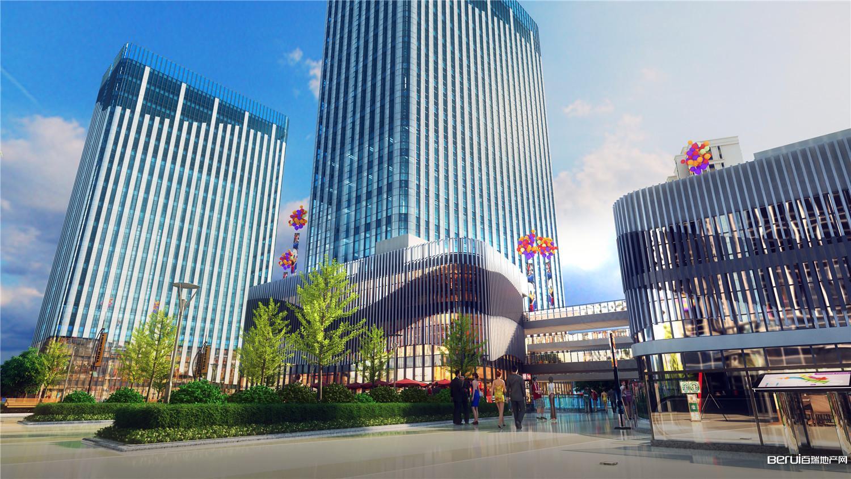 恒大水晶国际广场效果图