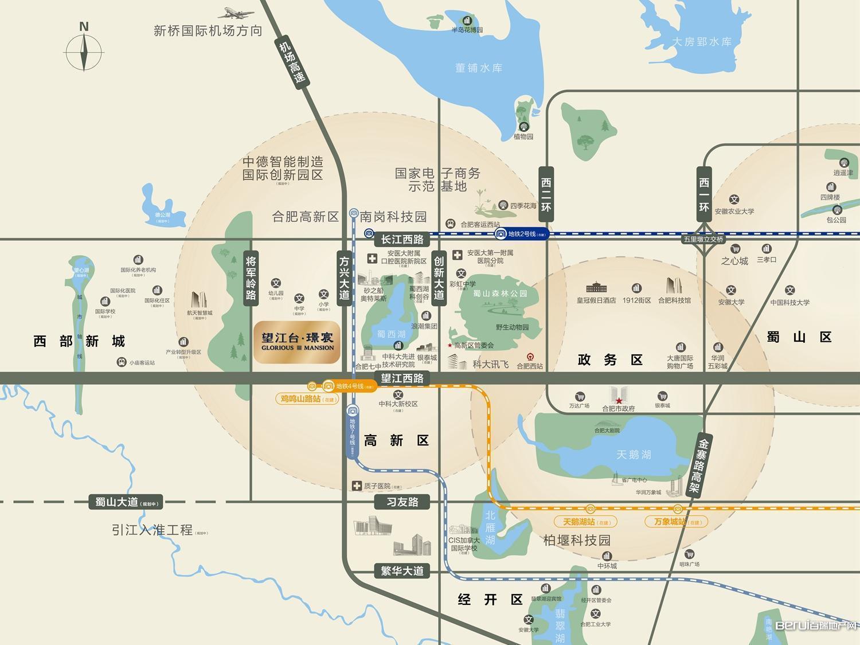 望江台·璟宸交通图