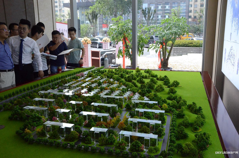 文一泰禾·合肥院子临时展厅实景图
