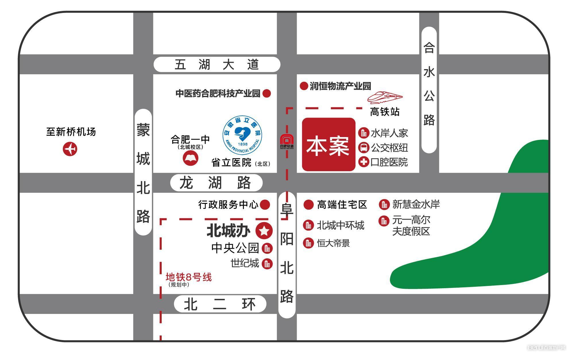 左能·泰和街交通图