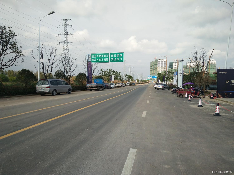 绿都地产少荃府周边道路