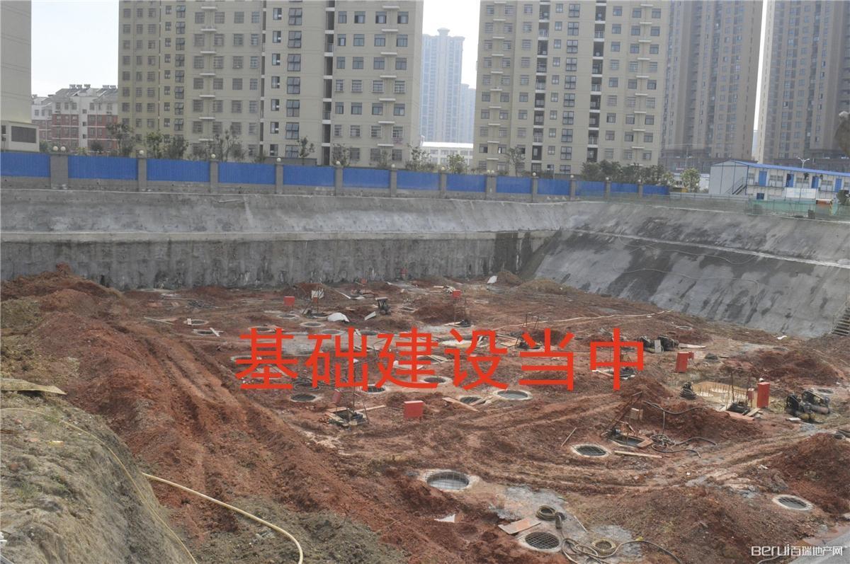 丰辉国际广场工程现场