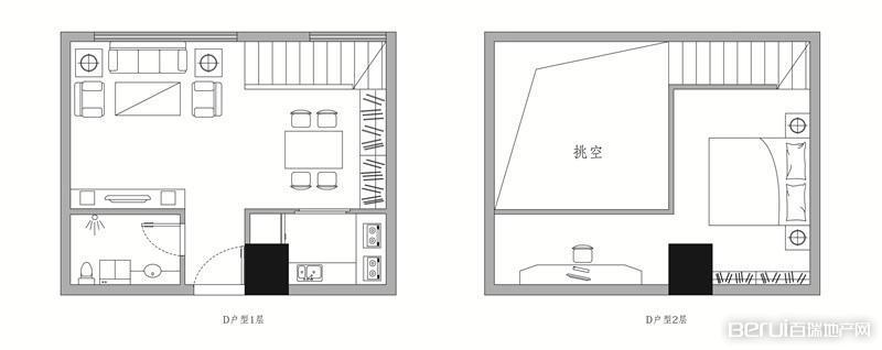 斯瑞·天寓户型图