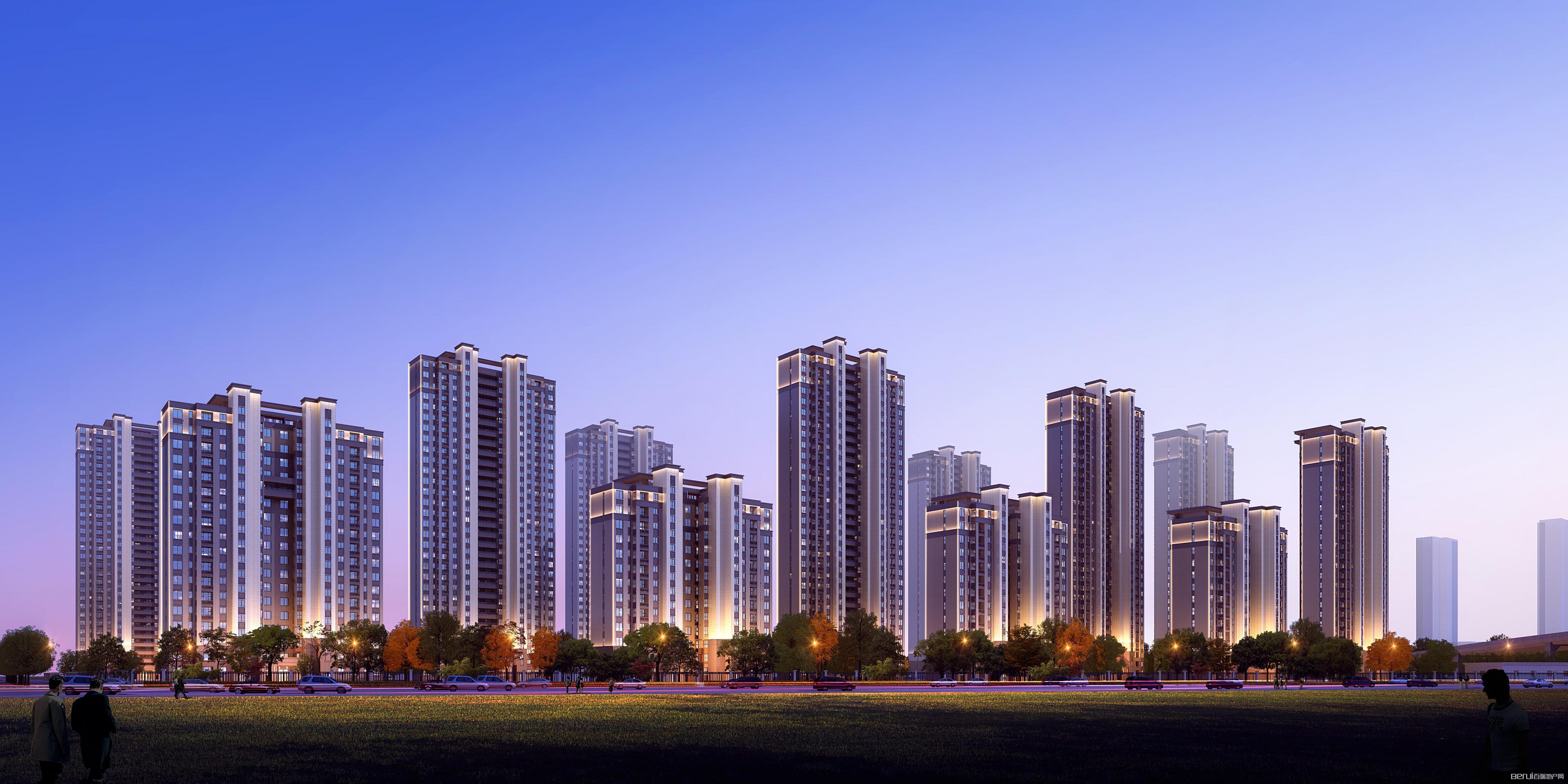 华南城紫荆名都四期沁园效果图