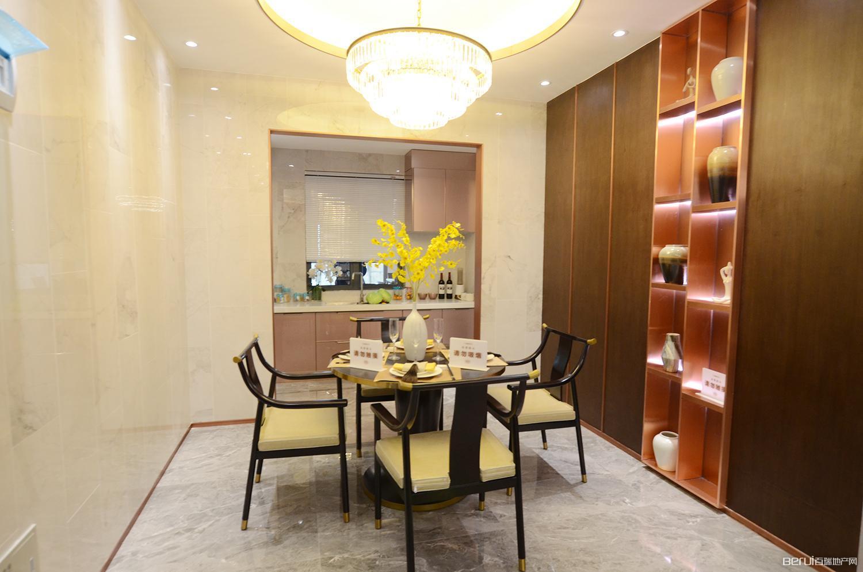 华南城紫荆名都四期锦园128㎡样板间餐厅
