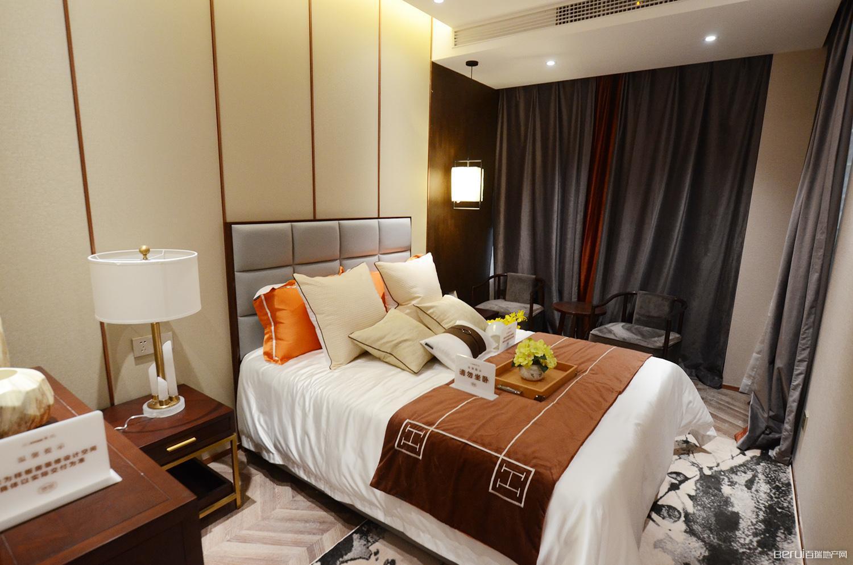 华南城紫荆名都四期锦园128㎡样板间卧室