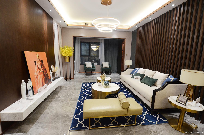 华南城紫荆名都四期锦园128㎡样板间客厅