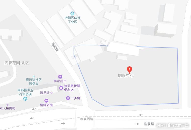朗峰中心配套图