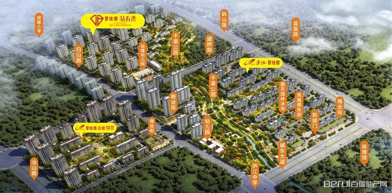 碧桂园钻石湾交通图