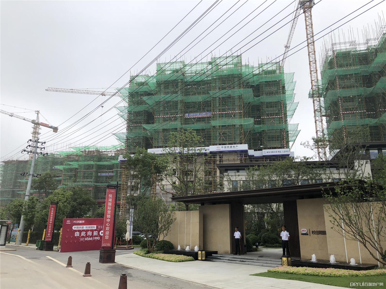 中国铁建悦湖国际工程现场